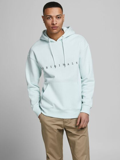 ÖGLESTICKAD RELAXED FIT HOODIE