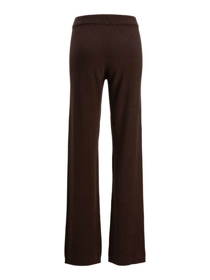 JXTAMY CASHMERE KNITTED TROUSERS, Demitasse, large