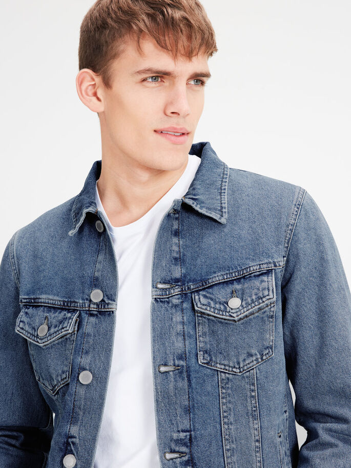 JJIALVIN JJJACKET JOS 299 NOOS DENIMJAKKE, Blue Denim, large