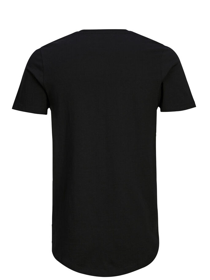 GRAFISK T-SHIRT, Black, large