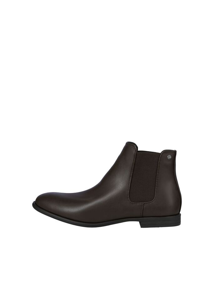 FAUX LEATHER CHELSEA BOOTS, Java, large