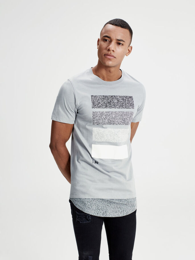 DALLA LINEA LUNGA T-SHIRT, Monument, large