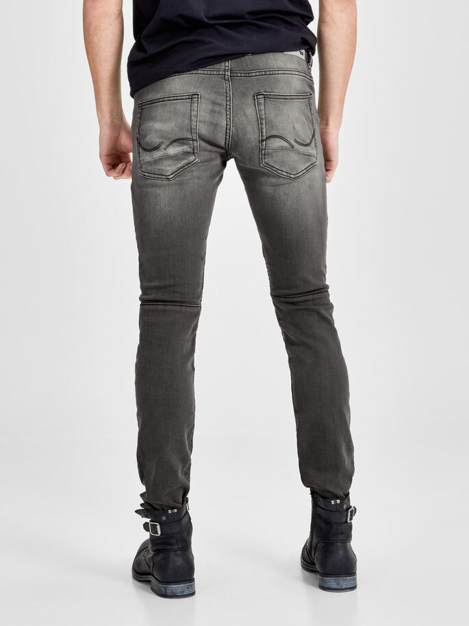 GLENN RYDER GE 106 SLIM FIT JEANS, Grey Denim, large