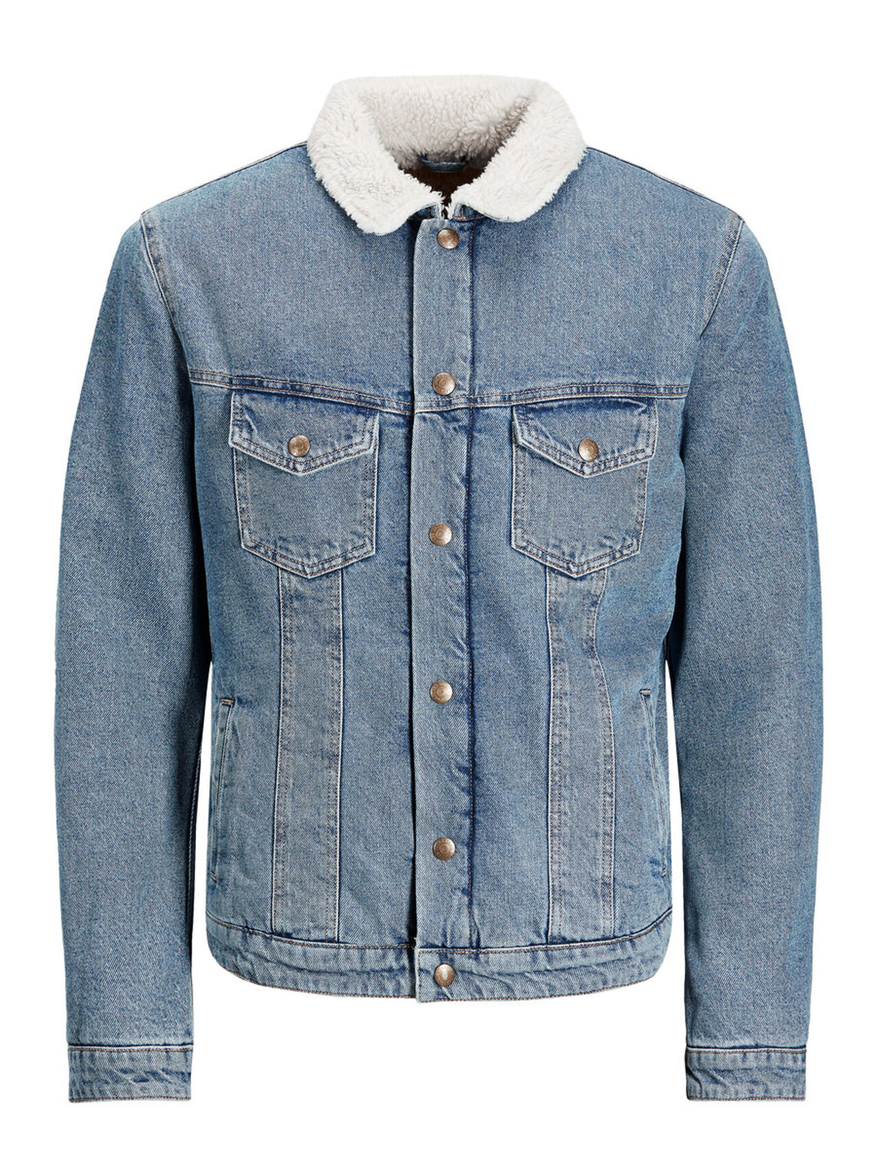 JACK & JONES Alvin Jacket Jos 309 Denim Jacket Men Blue