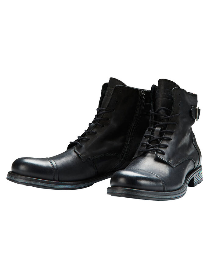 CUIR BOTTES, Anthracite, large