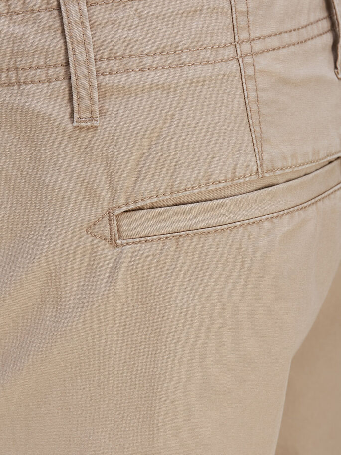PRESTON AKM 216 CARGO SHORTS, Chinchilla, large