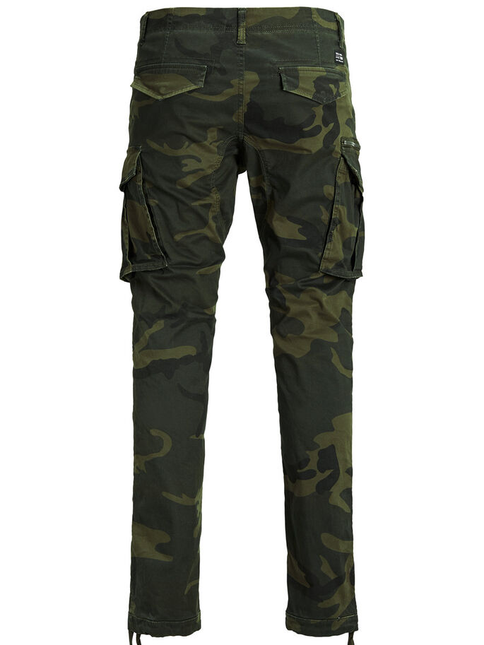 PAUL CHOP WW FOREST NIGHT CAMO STS CARGOHOSE, Forest Night, large f069733db7