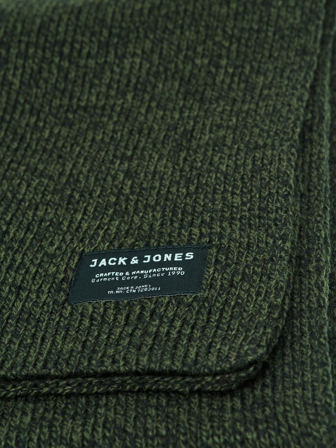 CLASSIC SCARF, Rifle Green, large