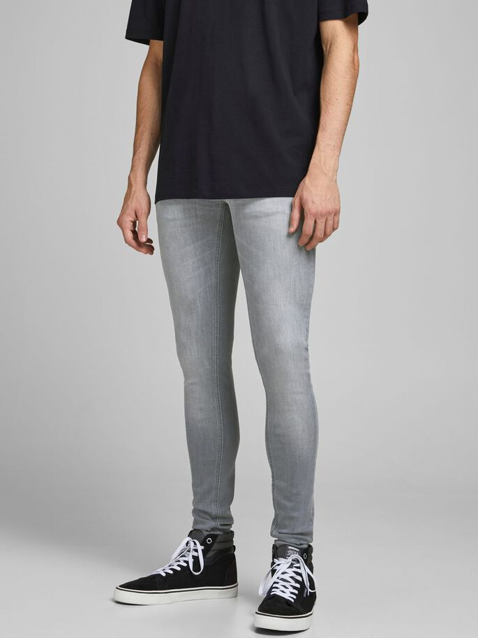 TOM ORIGINAL AGI 112 SKINNY FIT JEANS, Grey Denim, large
