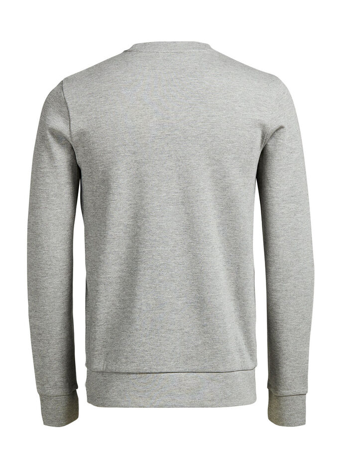 VIELSEITIGES SWEATSHIRT, Cool Grey, large