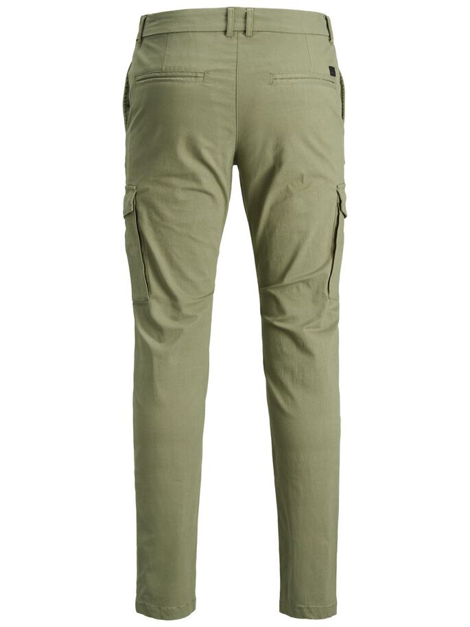 MARCO PRATT CHINO, Deep Lichen Green, large