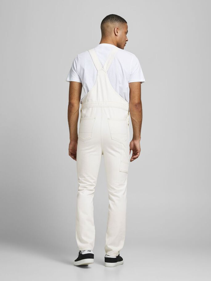 MIKE AM 245 DUNGAREES, Ecru, large