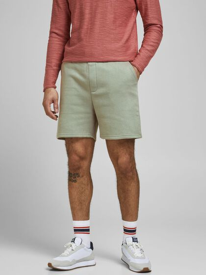 SOLID SWEAT SHORTS