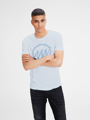 SLIM FIT A STAMPA T-SHIRT