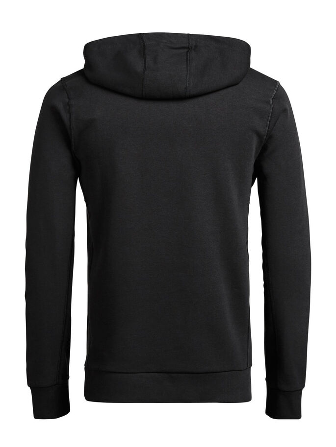 KLASSISCHES SWEATSHIRT, Black, large
