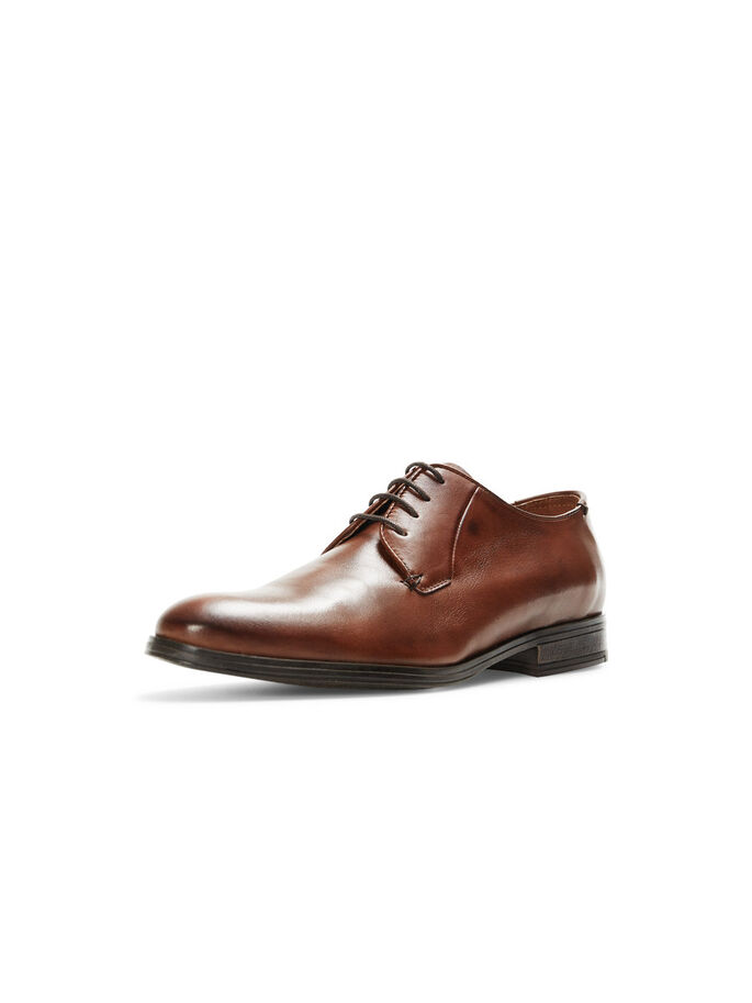 DRESS SHOES, Cognac, large
