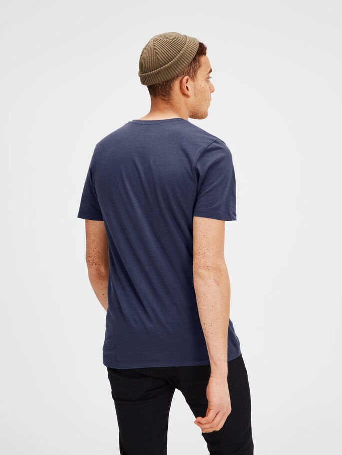 IMPRIMÉ T-SHIRT, Mood Indigo, large