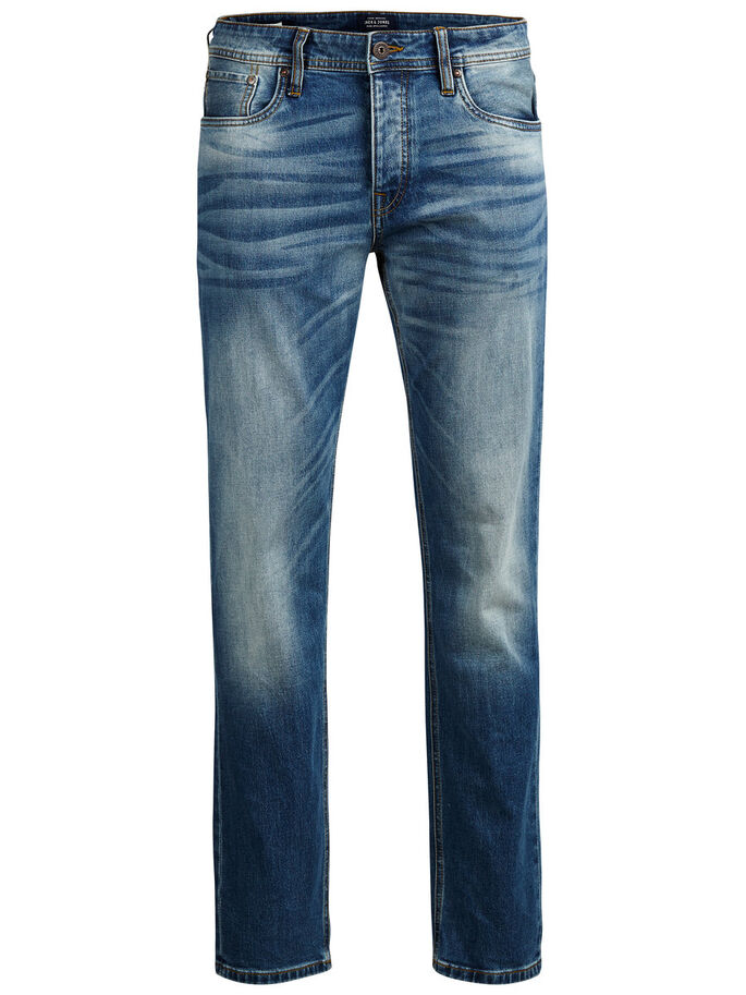 MIKE ORIGINAL GE 616 JEAN COUPE CONFORT, Blue Denim, large