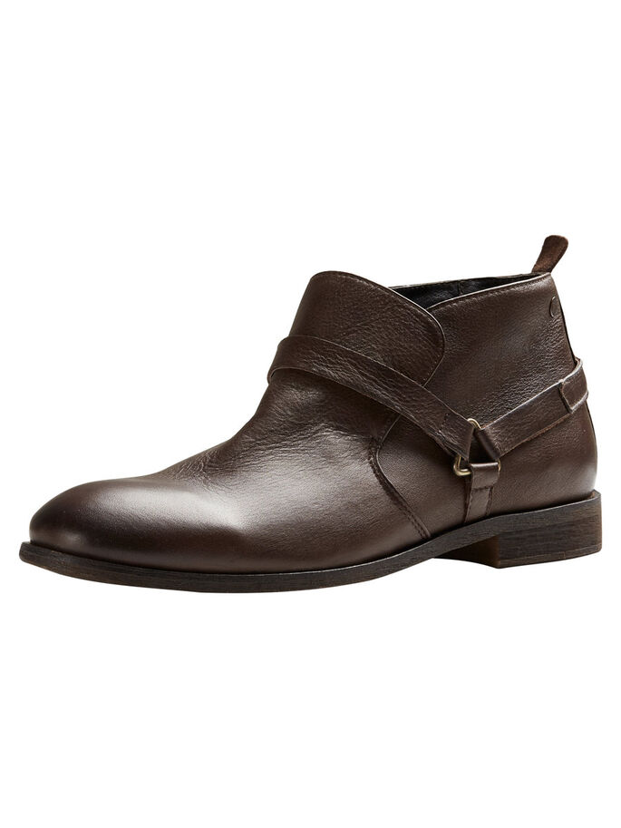 LEATHER BOOTS, Java, large