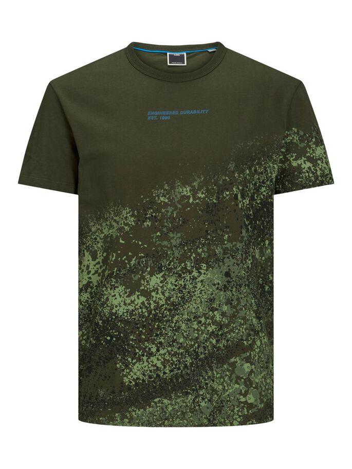 GRAPHIC PRINT T-SHIRT, Forest Night, large