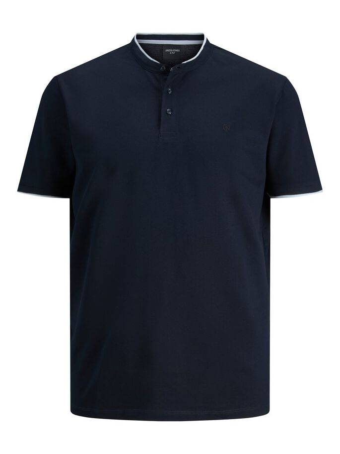 MAO POLO EN GRANDES TAILLES, New Navy, large