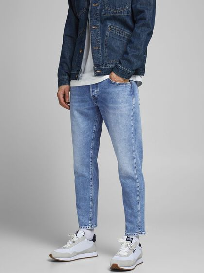 FRANK LEEN CJ 529 TAPERED FIT JEANS