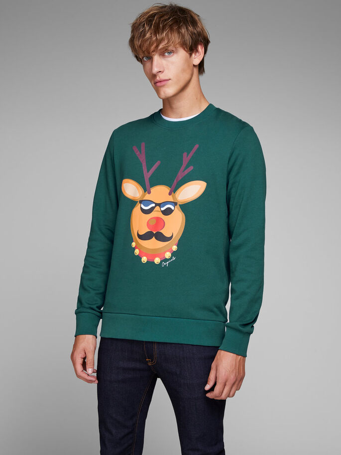 159ed4b6deaa2d Xmas knitted pullover