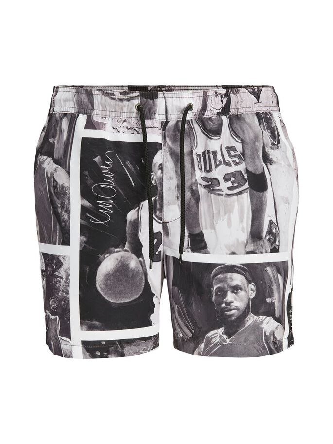 LEGENDS JJ BADESHORTS, White, large