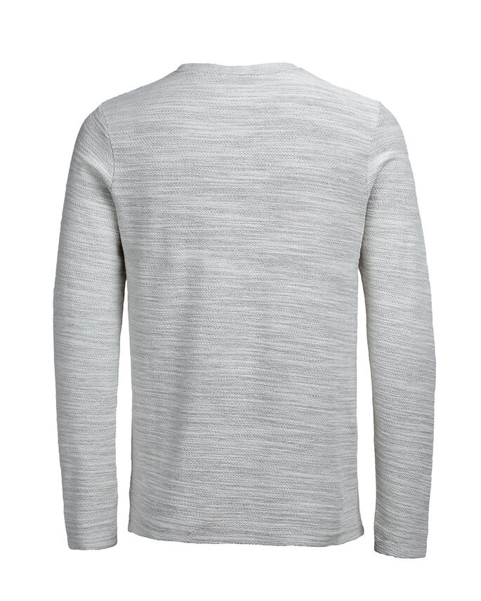 EFFET FLAMMÉ SWEAT-SHIRT, Whisper White, large