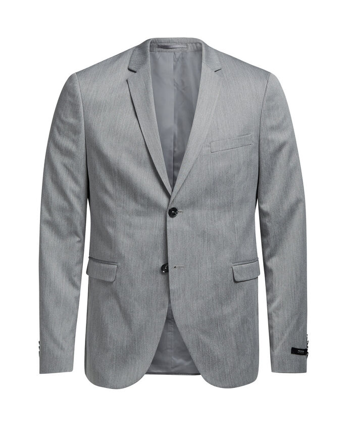 GRIGIO MELANGIATO BLAZER, Light Grey Melange, large