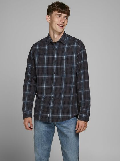 CHECKED COMFORT FIT SHIRT