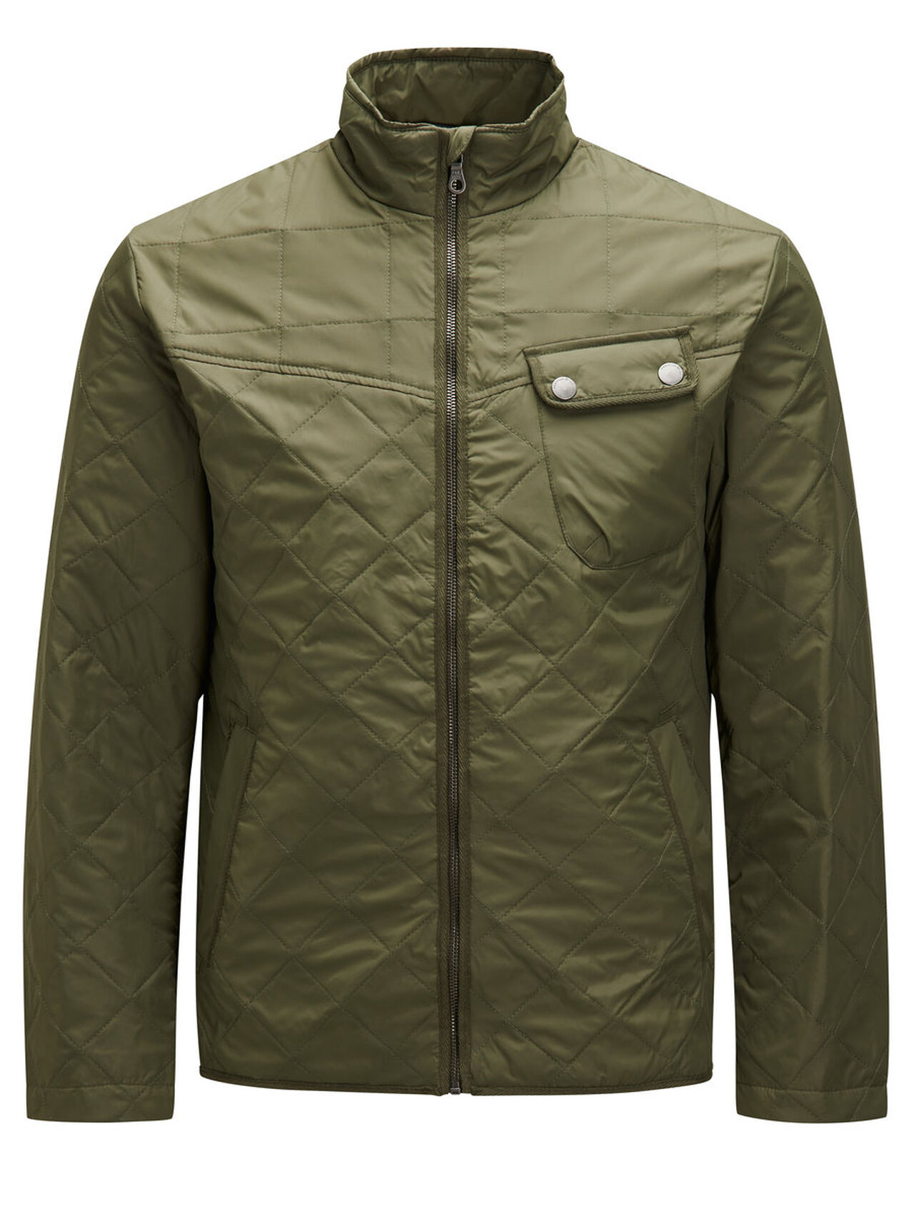 JACK & JONES Gewatteerde Jas Heren Green thumbnail