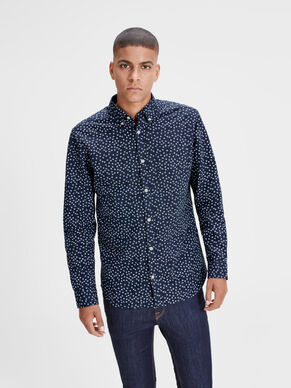 PRINT LONG SLEEVED SHIRT