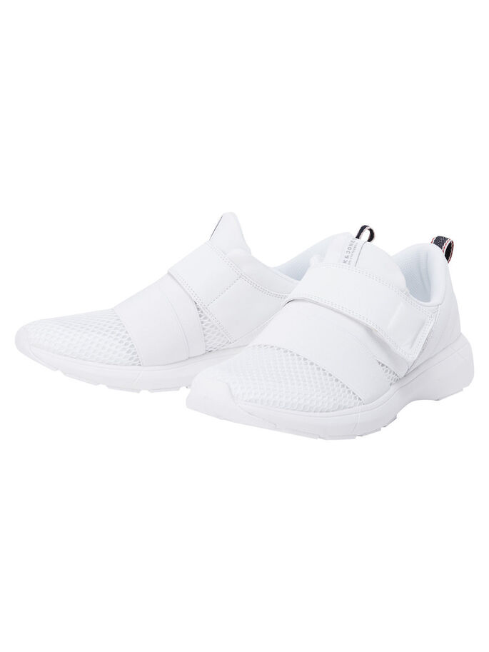 STRAP SNEAKERS, Bright White, large