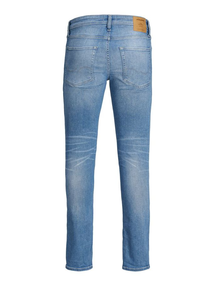 TIM ORIGINAL AM 786 JEANS À COUPE SLIM/STRAIGHT, Blue Denim, large