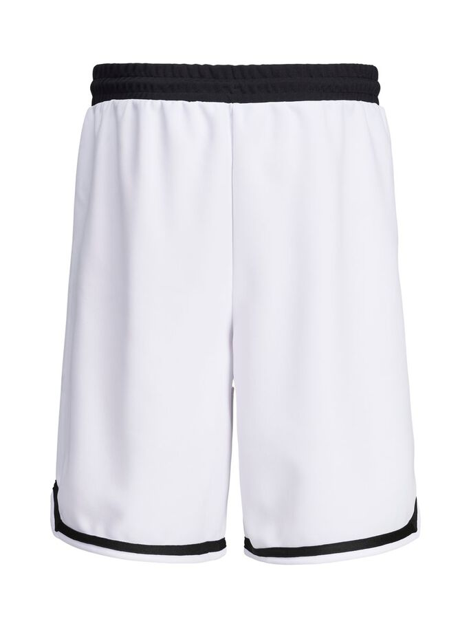 SPORTY SWEATSHORT, White, large