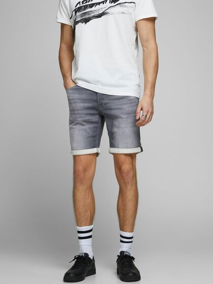 RICK ICON GE 005 SHORTS EN JEAN