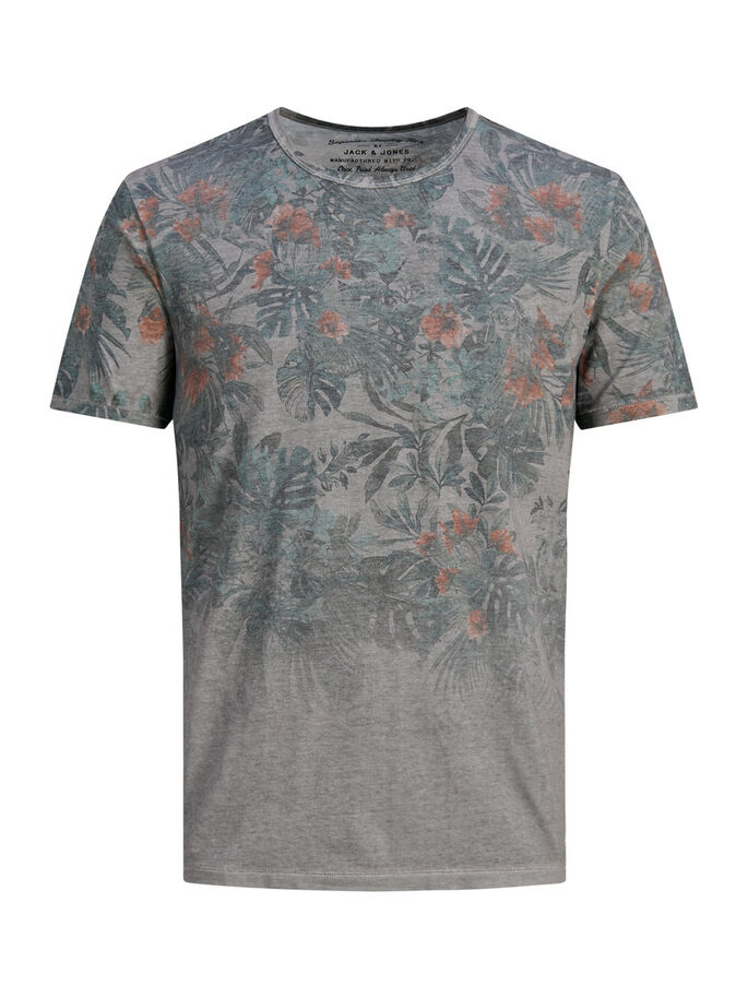 FLORAL T-SHIRT, Seagrass, large