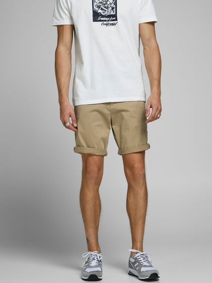 BOWIE SOLID CHINO SHORTS