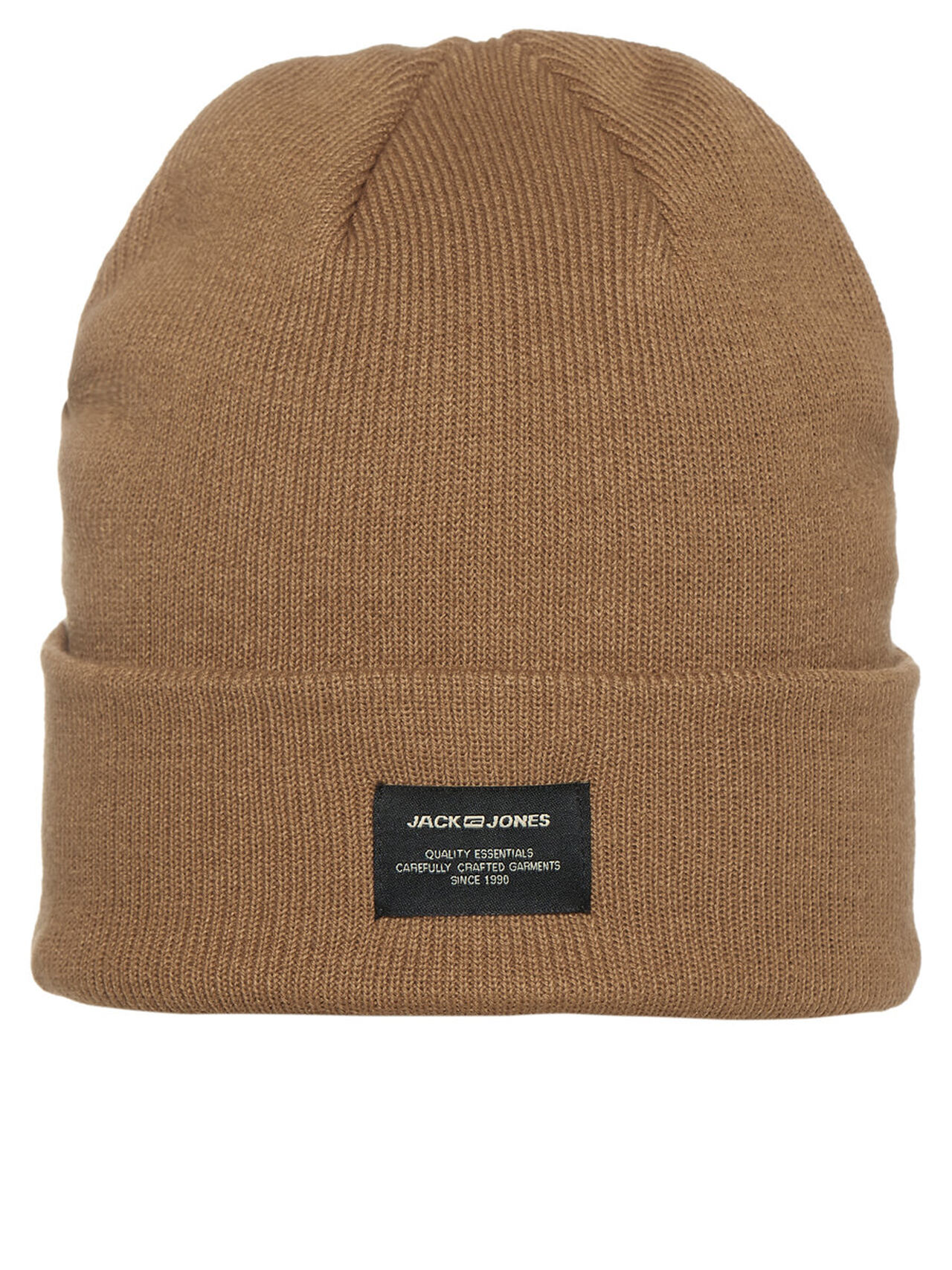 JACK & JONES Classic Beanie Men brown