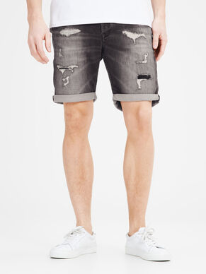 RICK DASH SHORTS GE 090 SHORTS IN DENIM