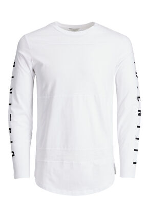 PRINT LONG-SLEEVED T-SHIRT