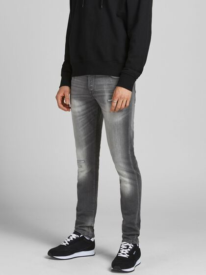 GLENN ICON GE 376 INDIGO KNIT SLIM FIT -FARKUT