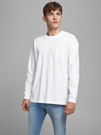 SIMPLE LONG-SLEEVED T-SHIRT