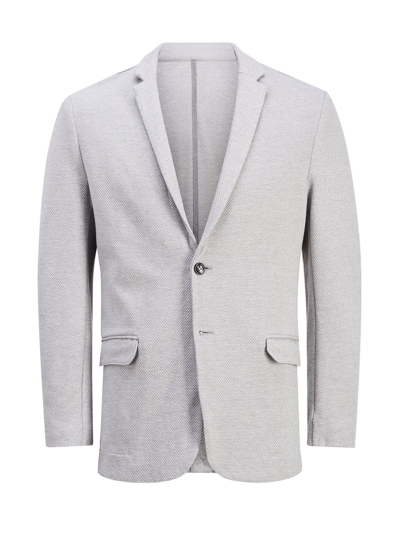 JACK & JONES On-trend Sweatblazer Heren Grijs thumbnail