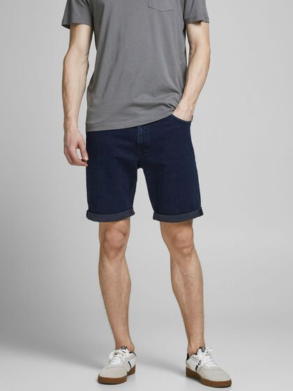 RICK FELIX AM 166 LID DENIM SHORTS
