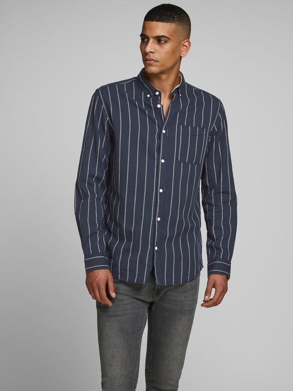 Jack & Jones -  Summer Linen Shirt - 3