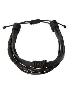 LEATHER MIX BRACELET