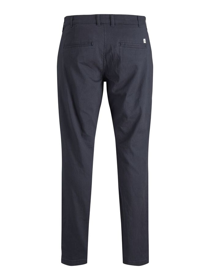 MARCO DAVE PLUS SIZE CHINOS, Navy Blazer, large