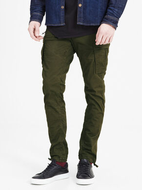 PAUL CHOP WW OLIVE NIGHT PANTALONES CARGO